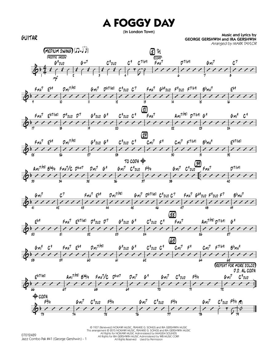 Jazz Combo Pak #41 (George Gershwin) - Guitar
