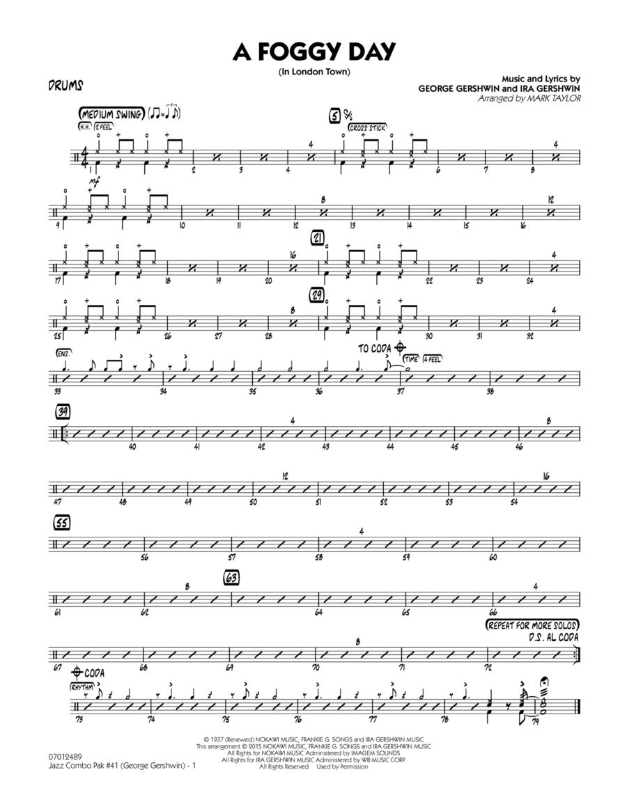 Jazz Combo Pak #41 (George Gershwin) - Drums