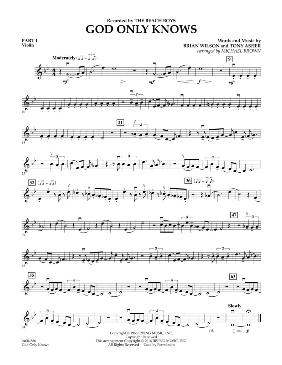 God Only Knows - Pt.1 - Violin