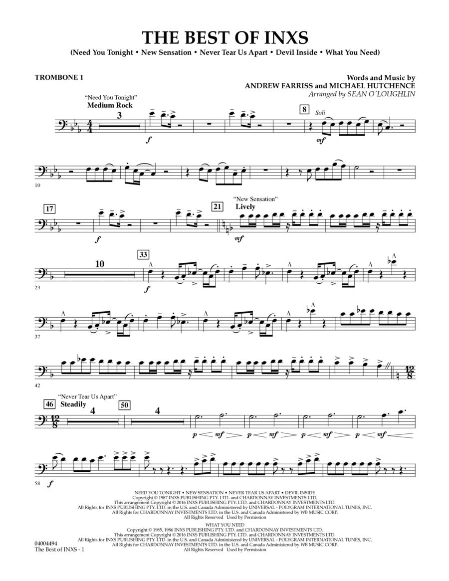 The Best of INXS - Trombone 1