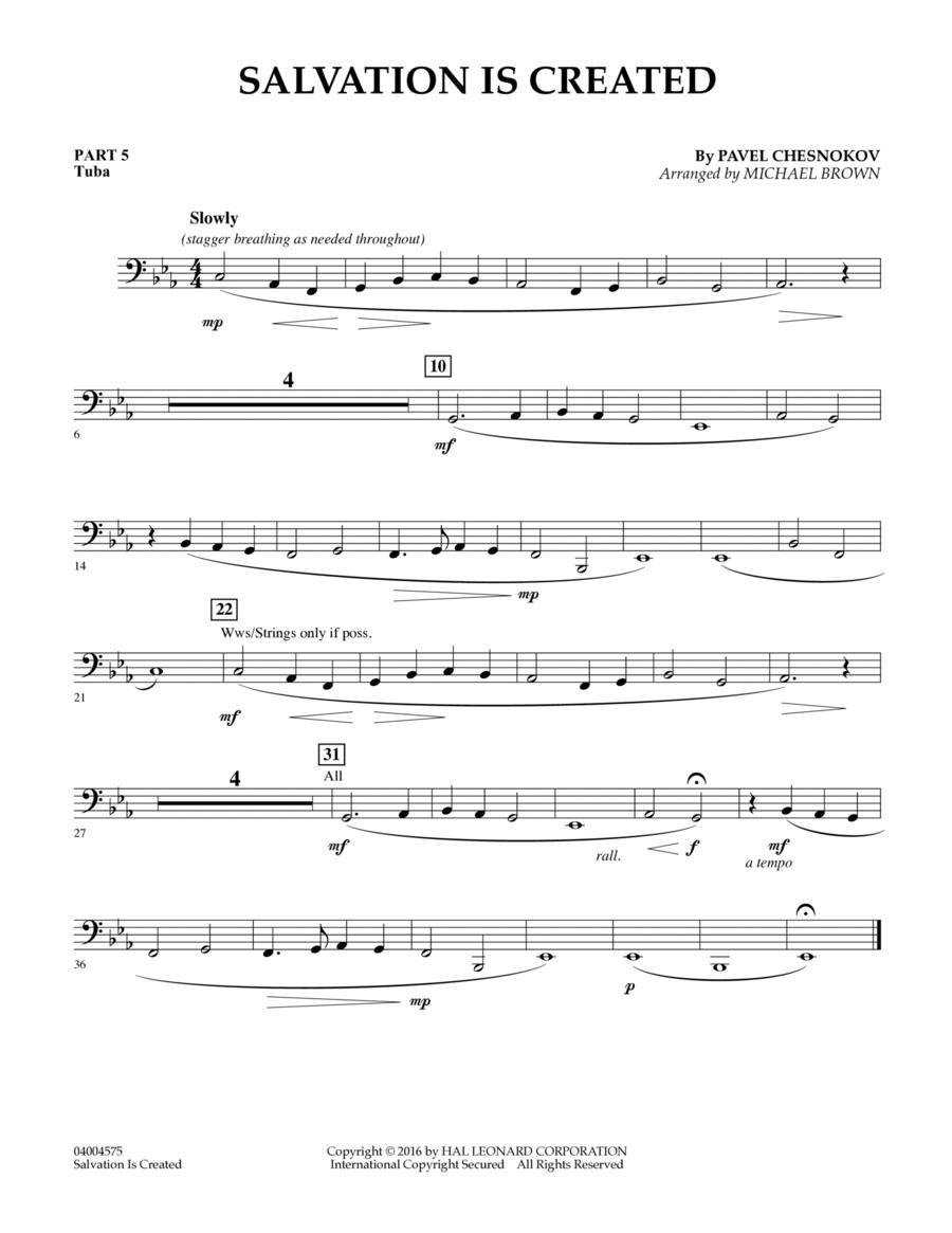 Salvation Is Created - Pt.5 - Tuba
