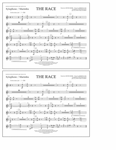 The Race - Xylophone/Marimba