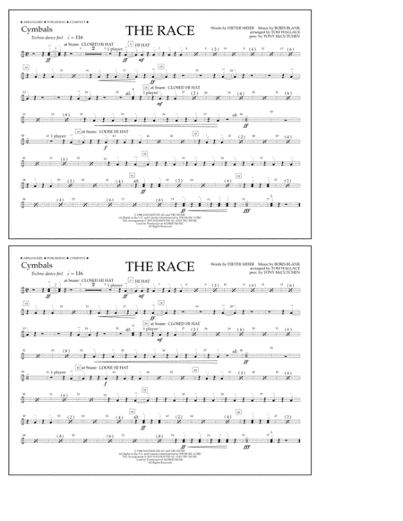 The Race - Cymbals