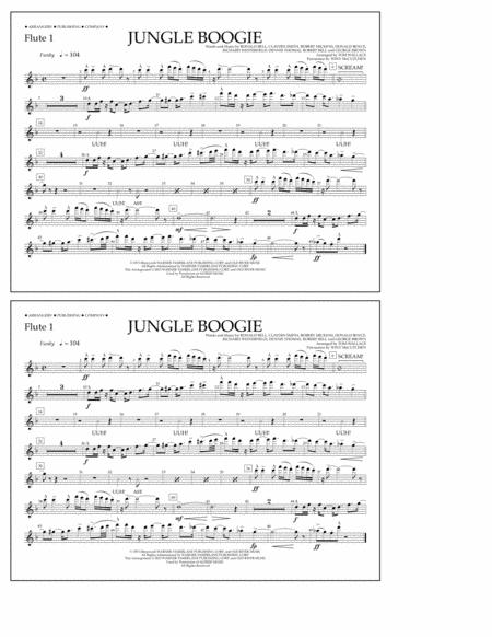 Jungle Boogie - Flute 1
