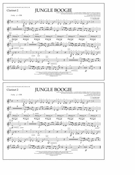 Jungle Boogie - Clarinet 2