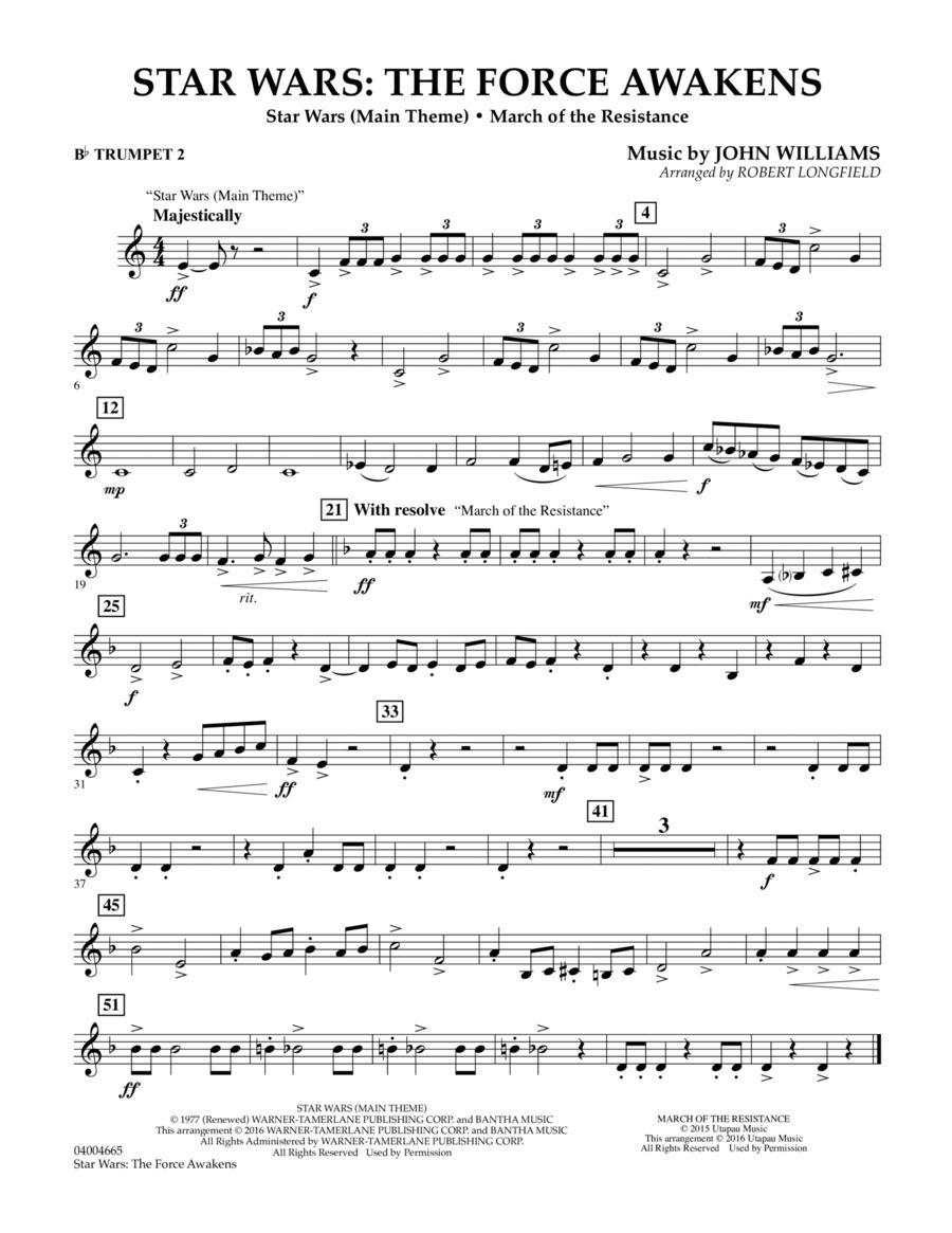 Star Wars: The Force Awakens - Bb Trumpet 2