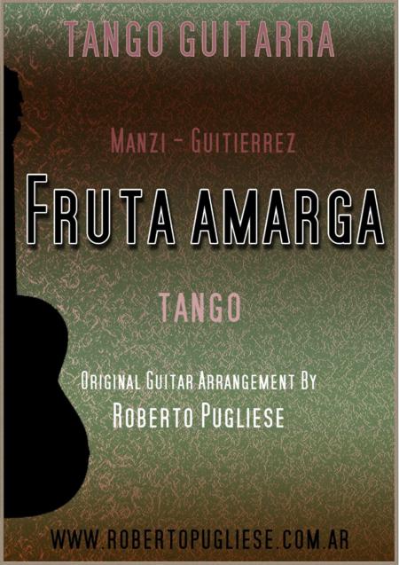Fruta amarga - tango (Gutierrez-Manzi)