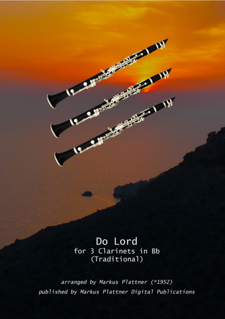 'Do Lord ' for 3 Clarinets in Bb