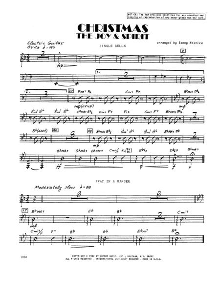 Christmas; The Joy & Spirit - Guitar