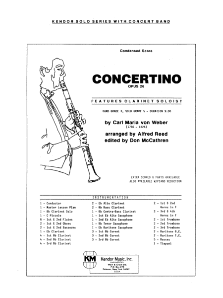 Concertino - Full Score