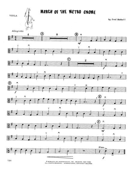 March Of The Metro Gnome - Viola