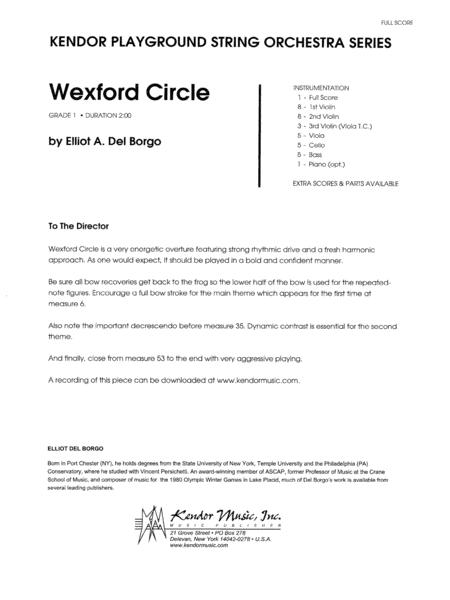 Wexford Circle - Full Score