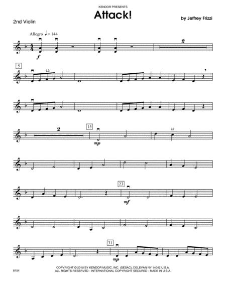 Attack! - Violin 2