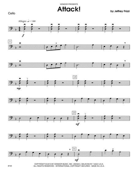 Attack! - Cello