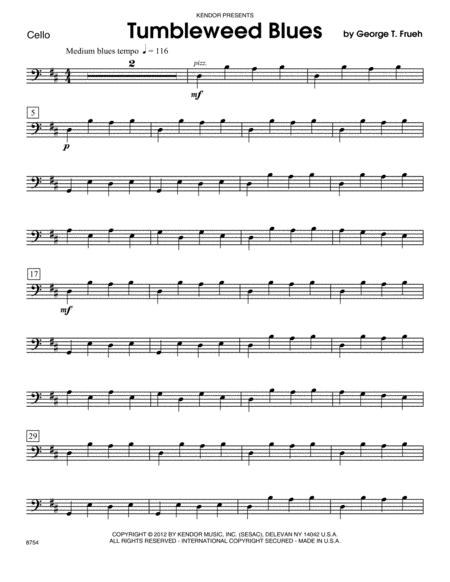 Tumbleweed Blues - Cello
