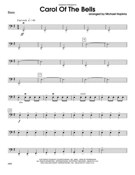 Carol of the Bells - Bass