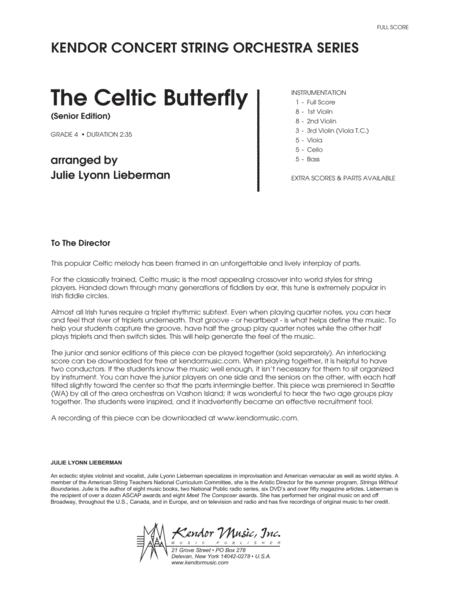 Celtic Butterfly, The (Senior Edition) - Full Score