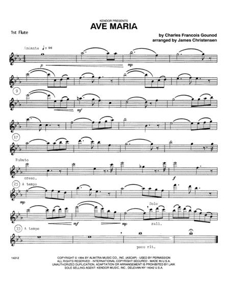 Ave Maria - Flute 1