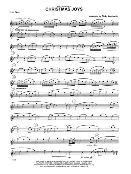 Christmas Joys - Flute 2