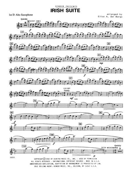 Irish Suite - Alto Sax 1