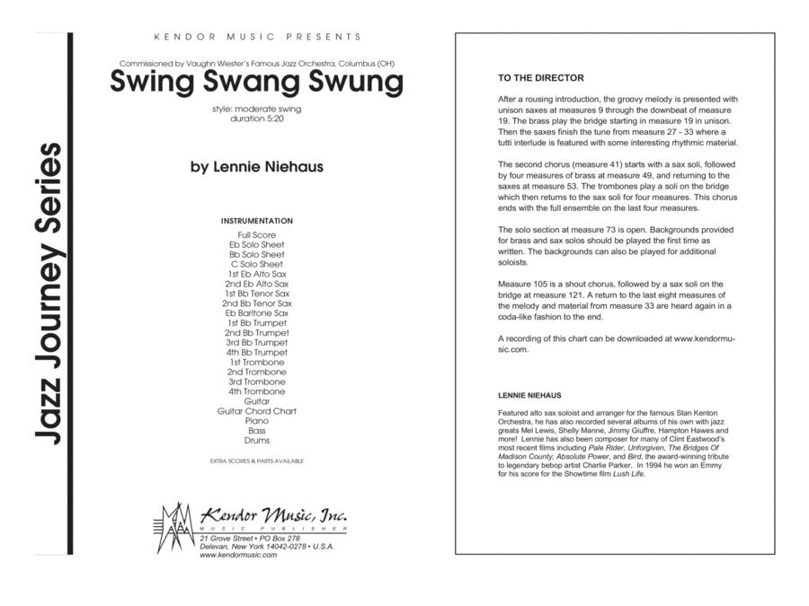 Swing Swang Swung - Full Score