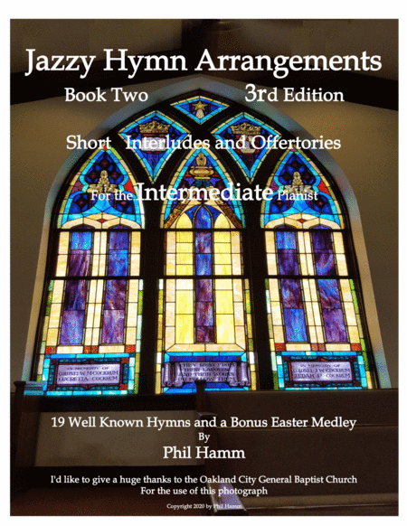 Jazzy Hymn Arrangements-Book Two