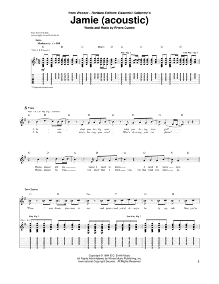 Jamie (Acoustic Version)