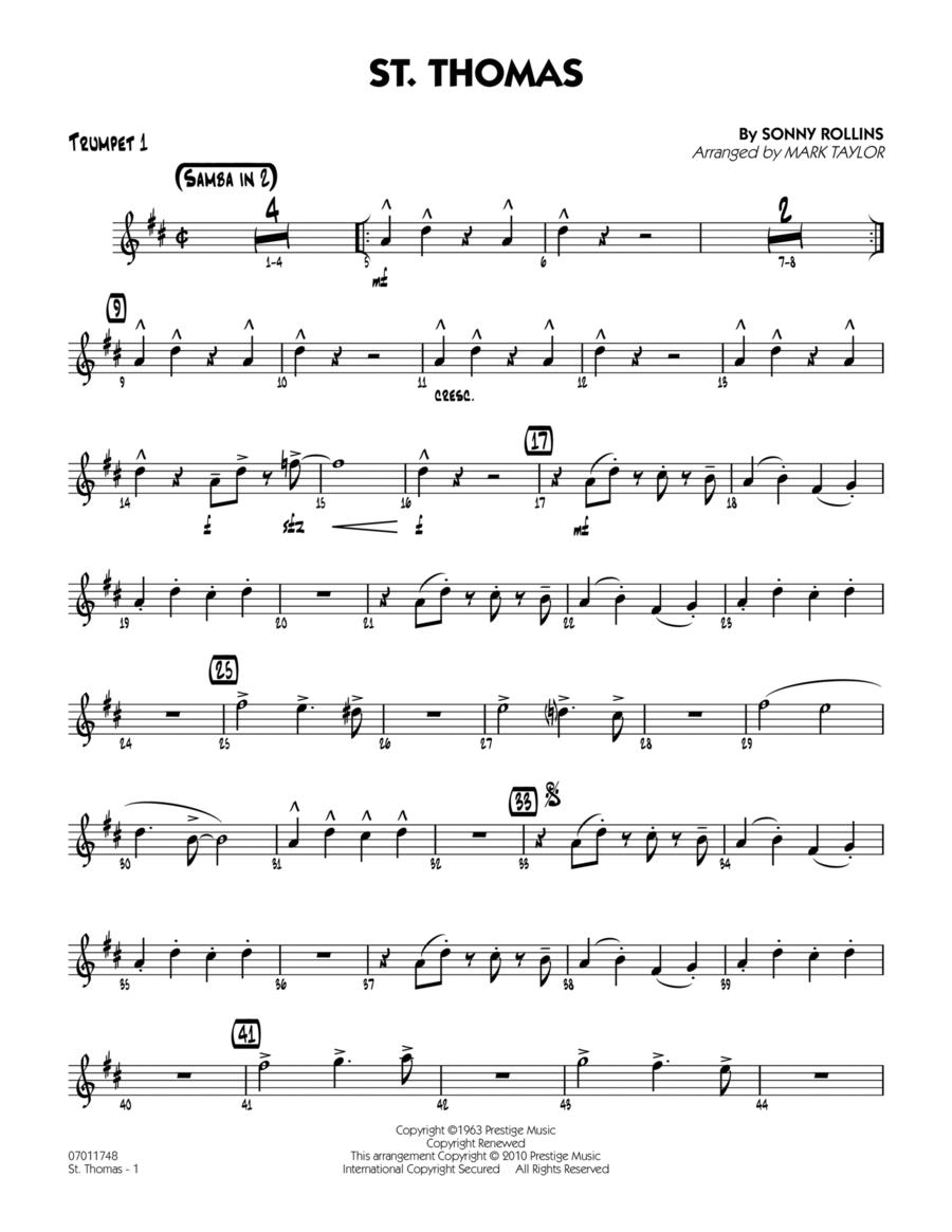 St. Thomas - Trumpet 1