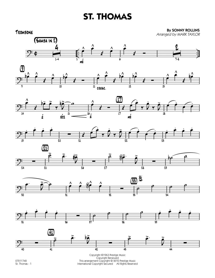 St. Thomas - Trombone