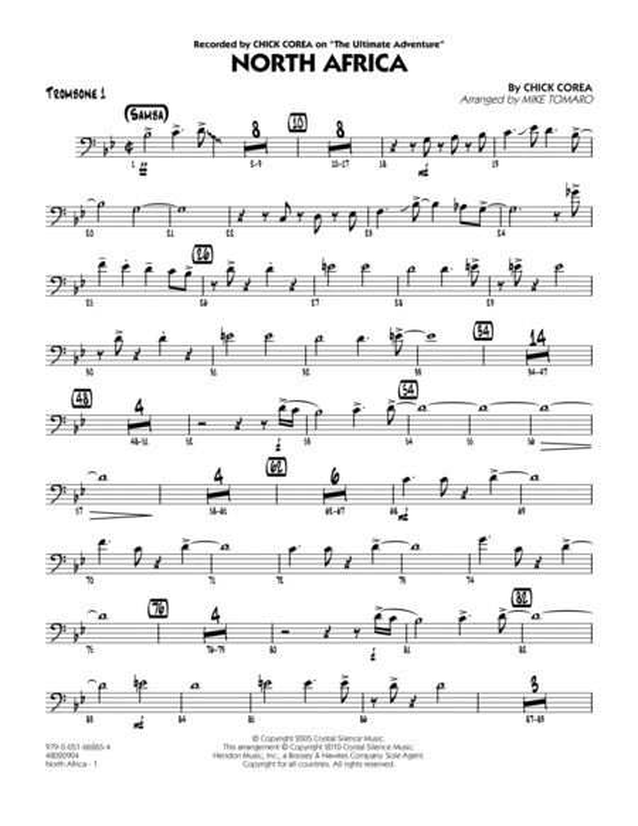North Africa - Trombone 1