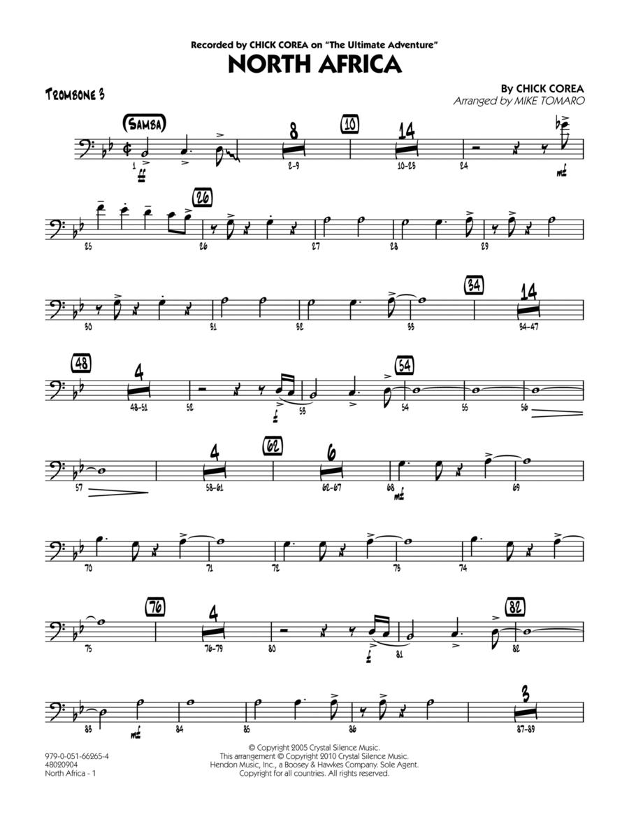 North Africa - Trombone 3