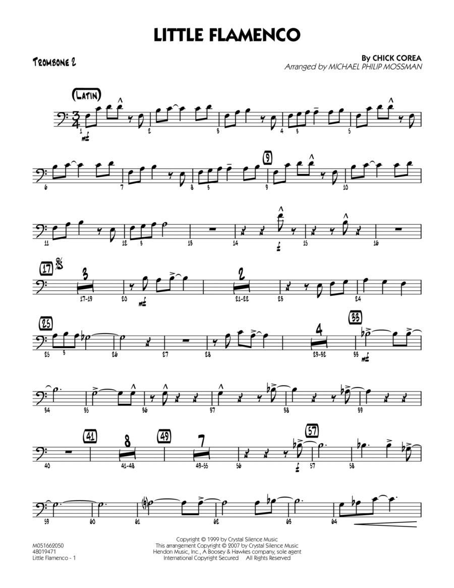 Little Flamenco - Trombone 2