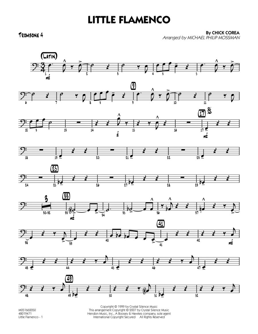 Little Flamenco - Trombone 4