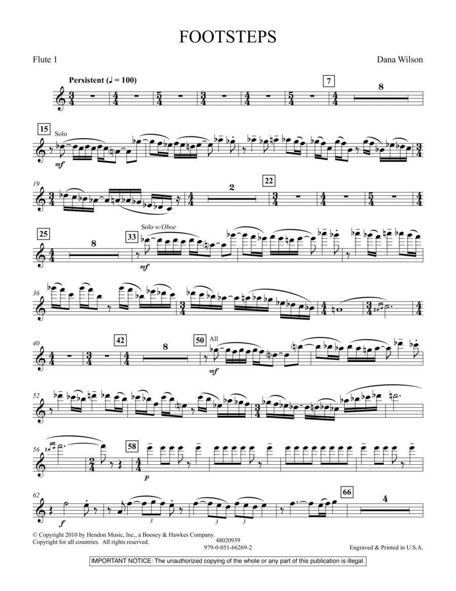 Footsteps - Flute 1