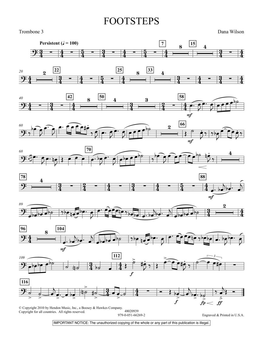 Footsteps - Trombone 3