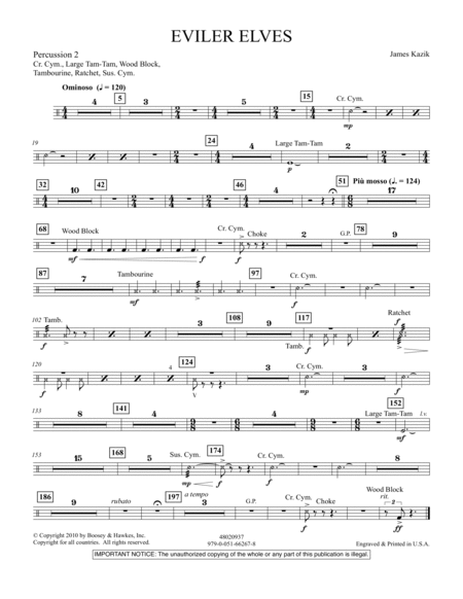 Eviler Elves - Percussion 2