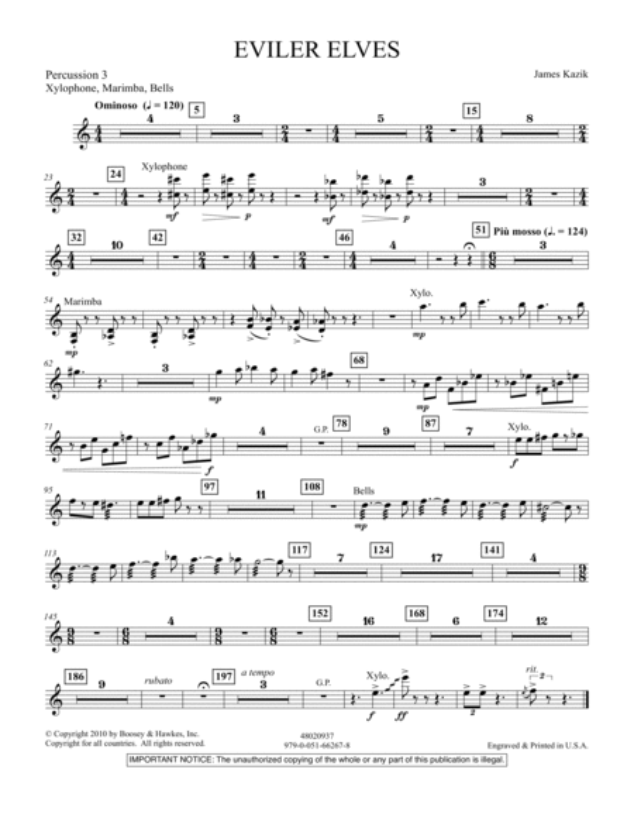 Eviler Elves - Percussion 3
