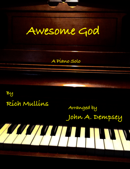 Awesome God (Piano Solo)