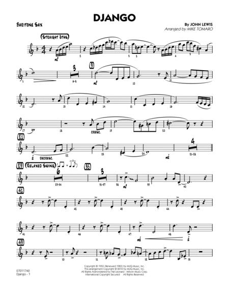 Django - Baritone Sax