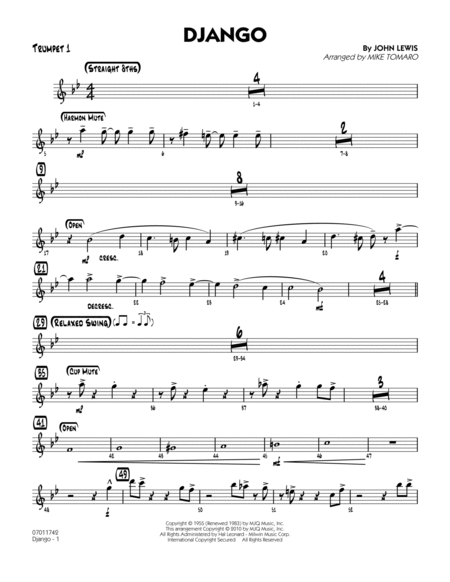 Django - Trumpet 1