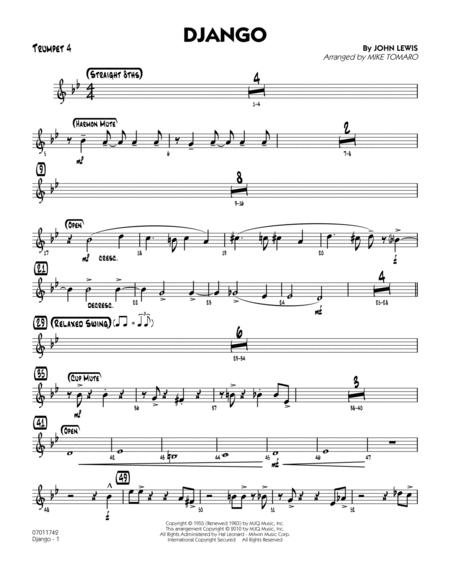 Django - Trumpet 4