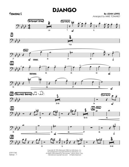 Django - Trombone 2
