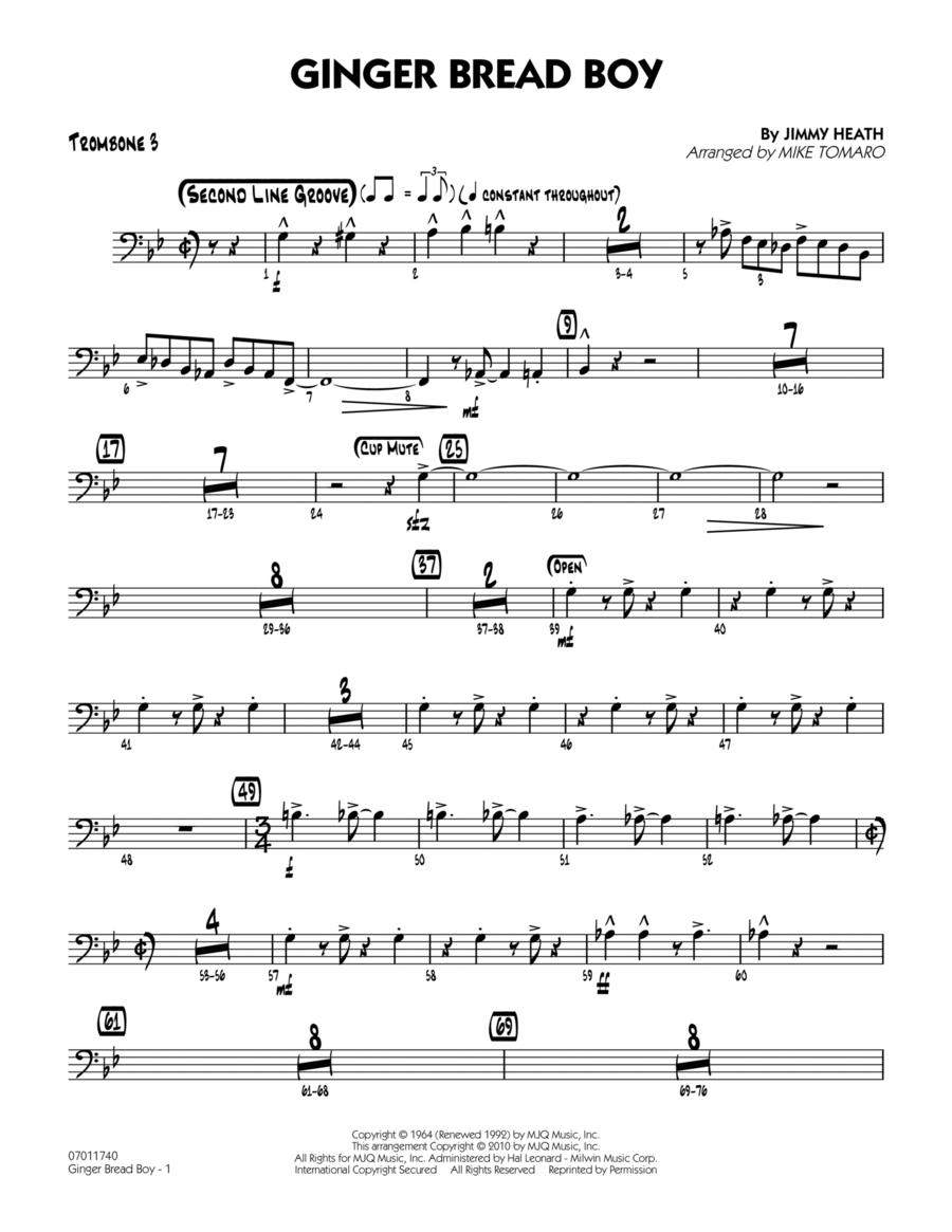 Ginger Bread Boy - Trombone 3