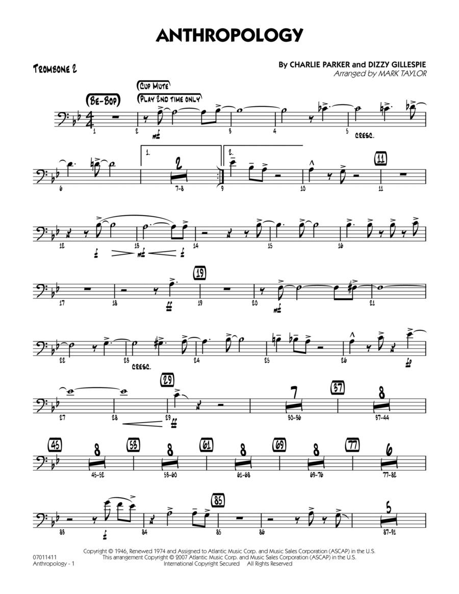 Anthropology - Trombone 2