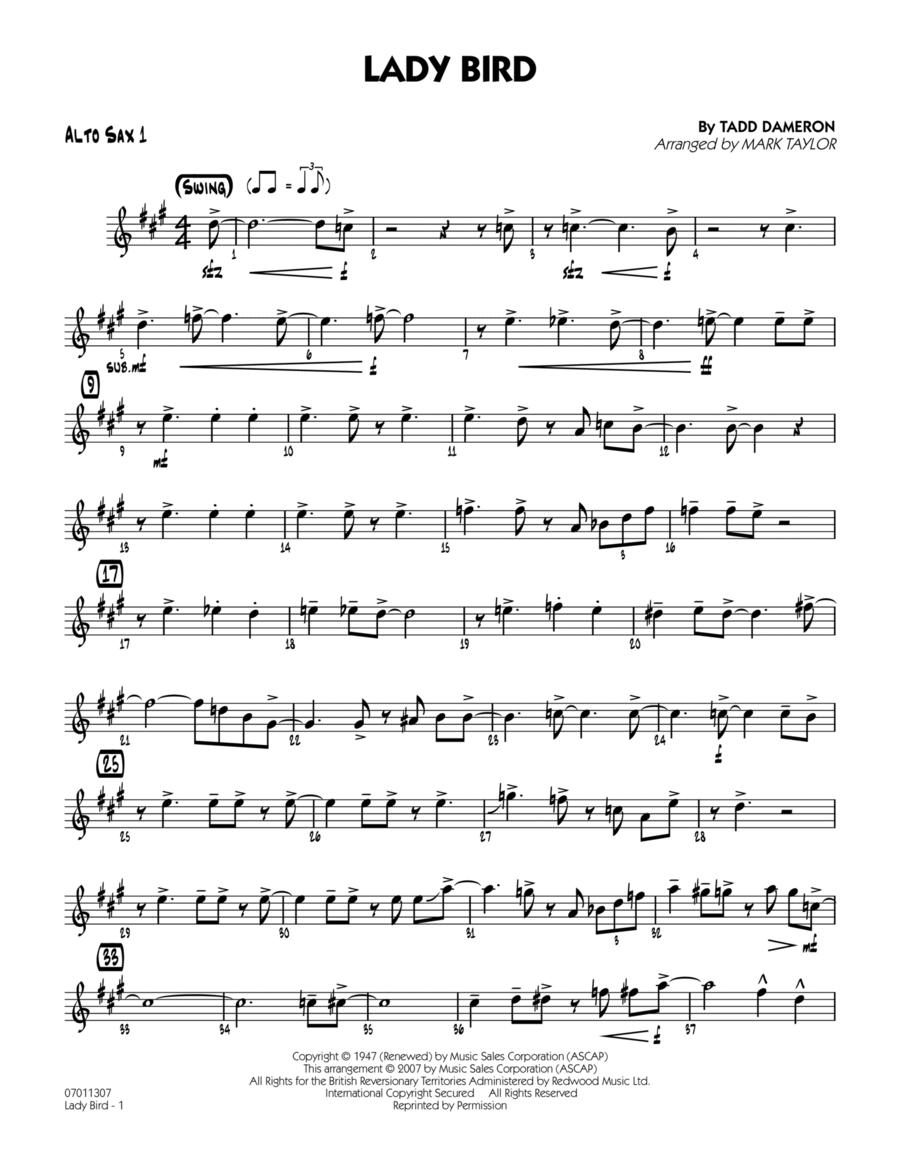 Lady Bird - Alto Sax 1