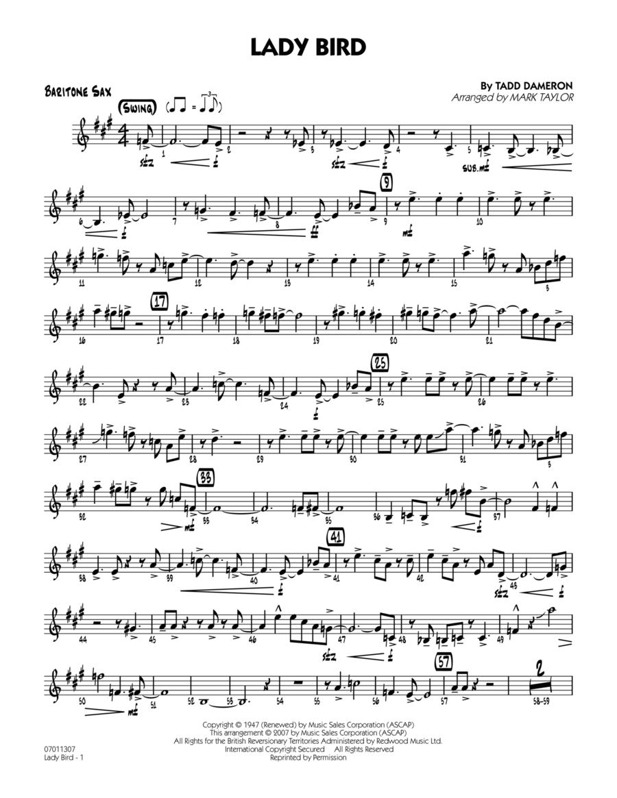 Lady Bird - Baritone Sax
