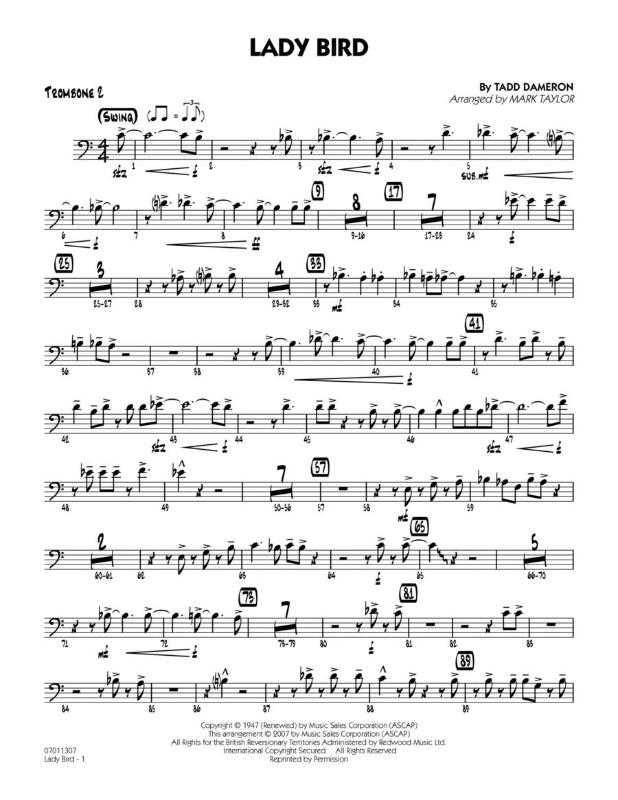 Lady Bird - Trombone 2