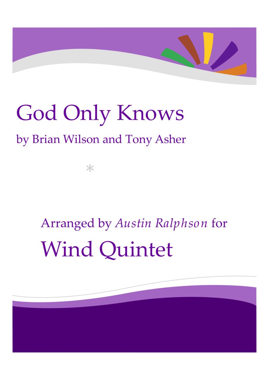 God Only Knows - wind quintet