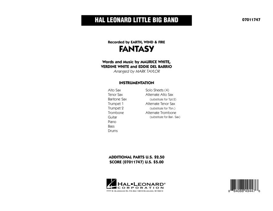 Fantasy - Conductor Score (Full Score)