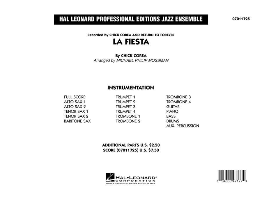 La Fiesta - Conductor Score (Full Score)